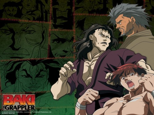 Боец Баки (Baki the Grappler) 1024x768