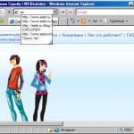 Internet Explorer 8 — общий обзор