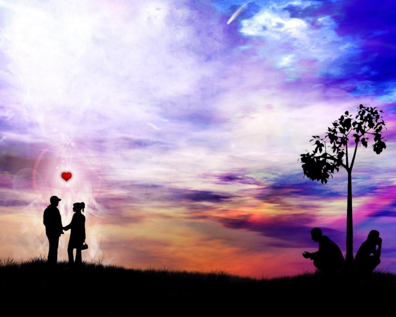Два сердца картинки красивые