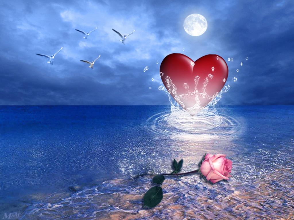 Любовь фэнтези миры сердце в море
