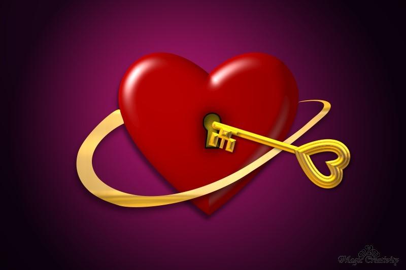 Про любовь i love you ключ от сердца