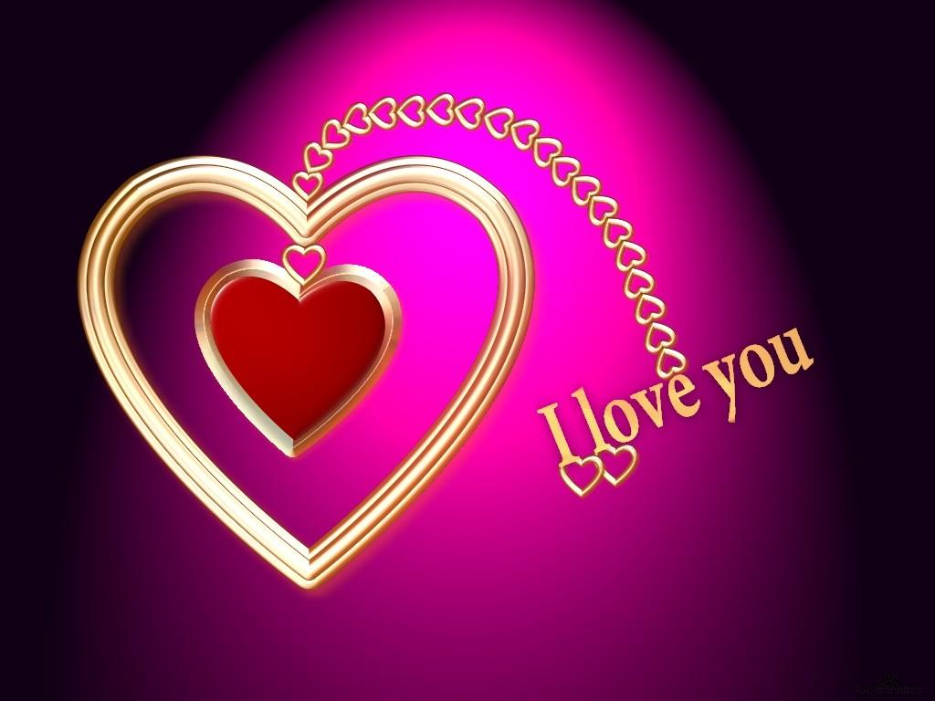 Про любовь i love you золото и любовь