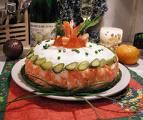 Как приготовить эффектное праздничное блюдо? Вулкан Фудзияма