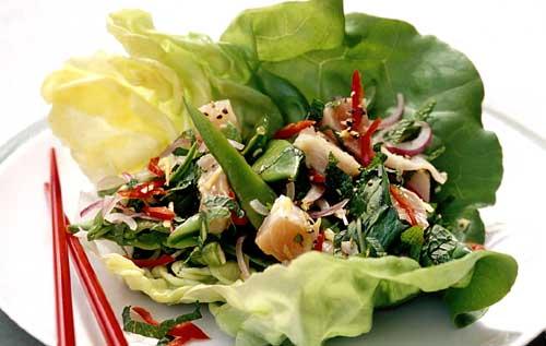 Вкусные салаты без майонеза