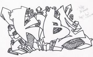 Т е эскиз к вашему будущему граффити