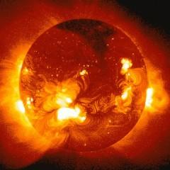 Почему солнце круглое?