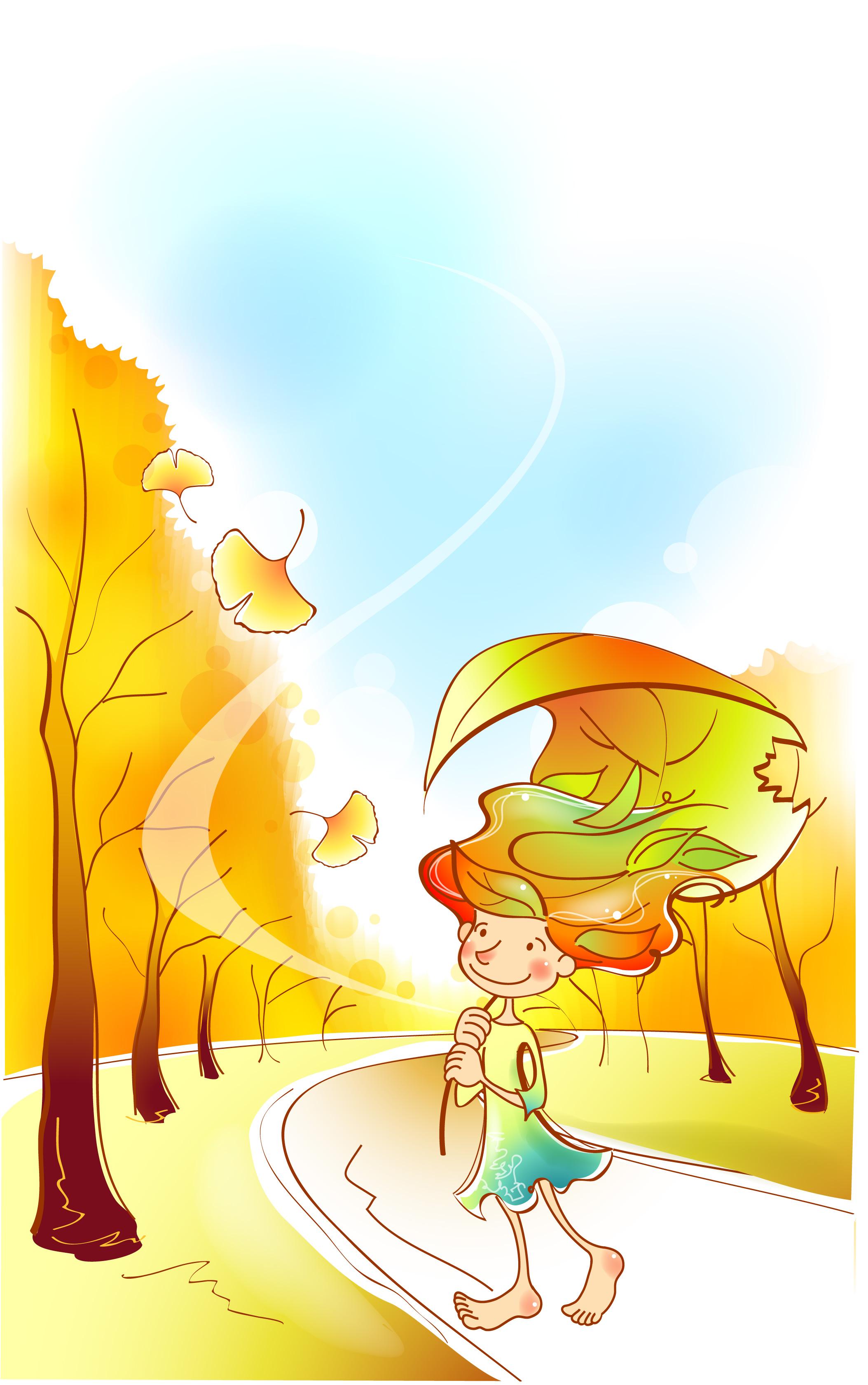 Картинки осень и книга