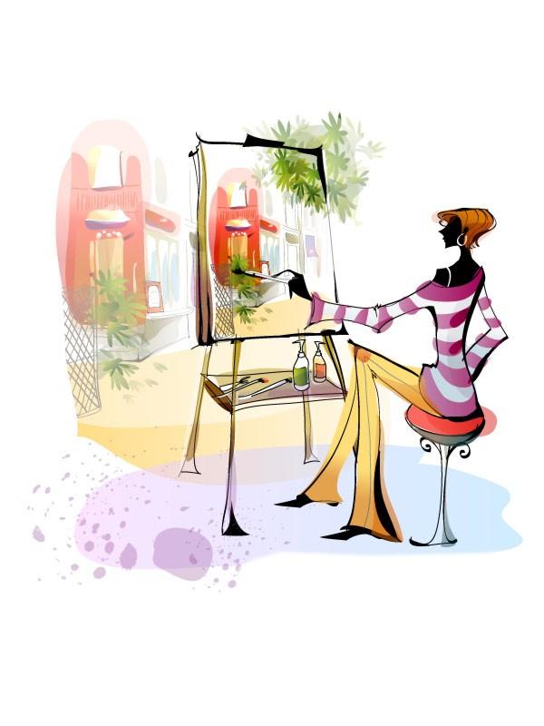 рисунок профессия художник-модельер это центральная