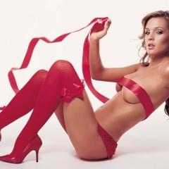 Секси красное