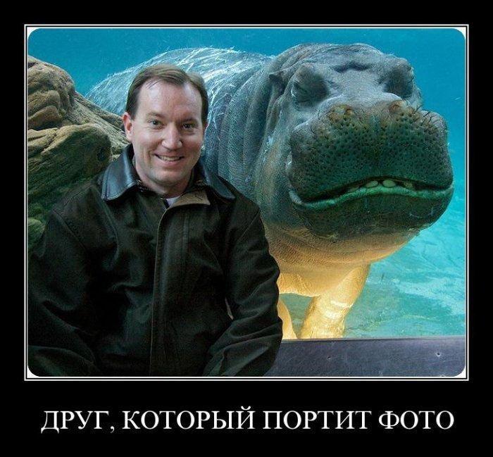 Друг, который портит фото