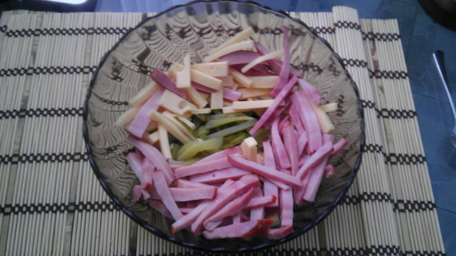 Салат с сыром 2