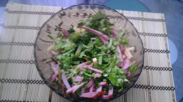 Салат с сыром 3
