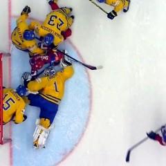 Россия — Швеция (счёт, видео голов). ЧМ по хоккею 2015. 1/4 финала