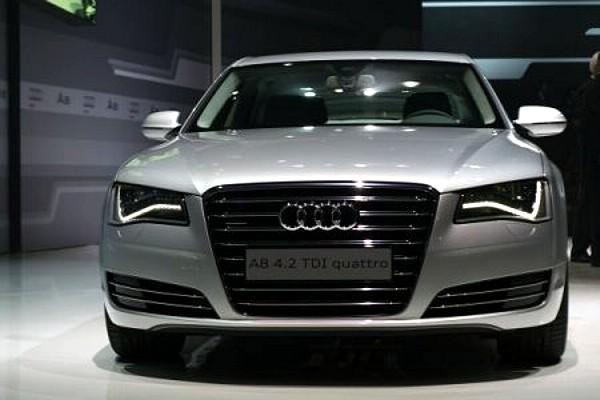 Audi a8 — фронт