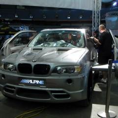Тюнинг BMW x5 отAlpine