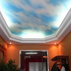 Эти роскошные натяжные потолки