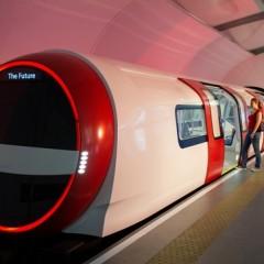 В Лондоне Siemens представила метропоезд будущего
